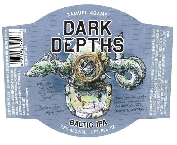 Sam Adams Dark Depths