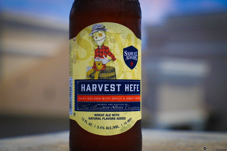 Sam Adams Harvest Hefe Bottle