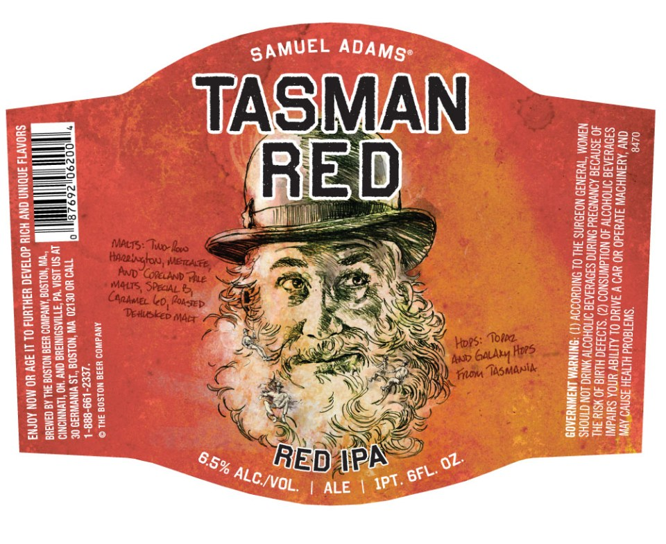 Sam Adams Tasman Red