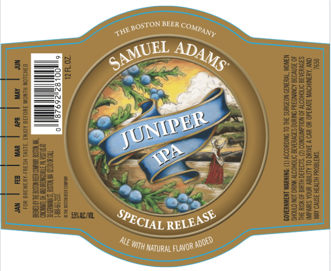 Samuel Adams Juniper IPA