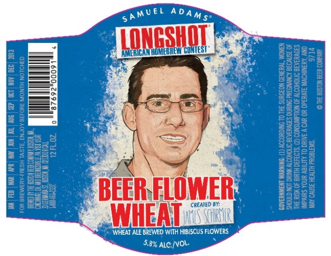Samuel Adams Longshot Beer Flower Wheat
