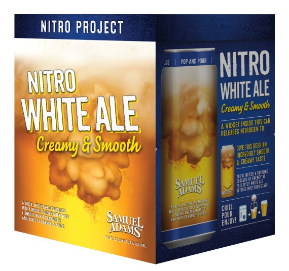 Samuel Adams Nitro Can 4 Pack