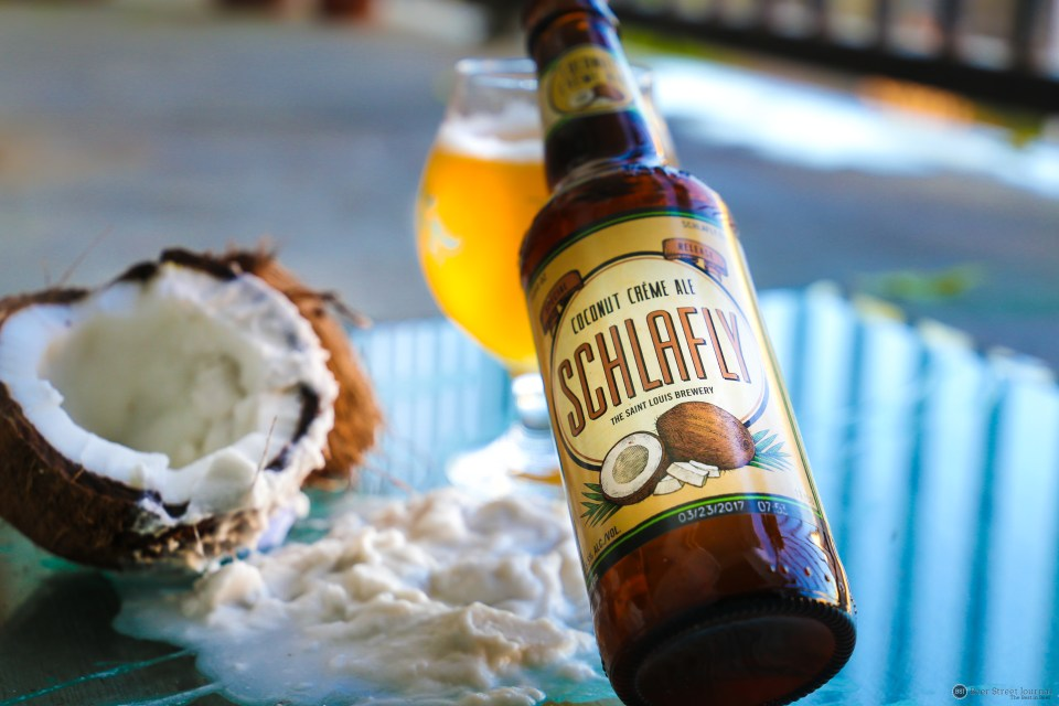 Schlafly Coconut Creme Ale bottle