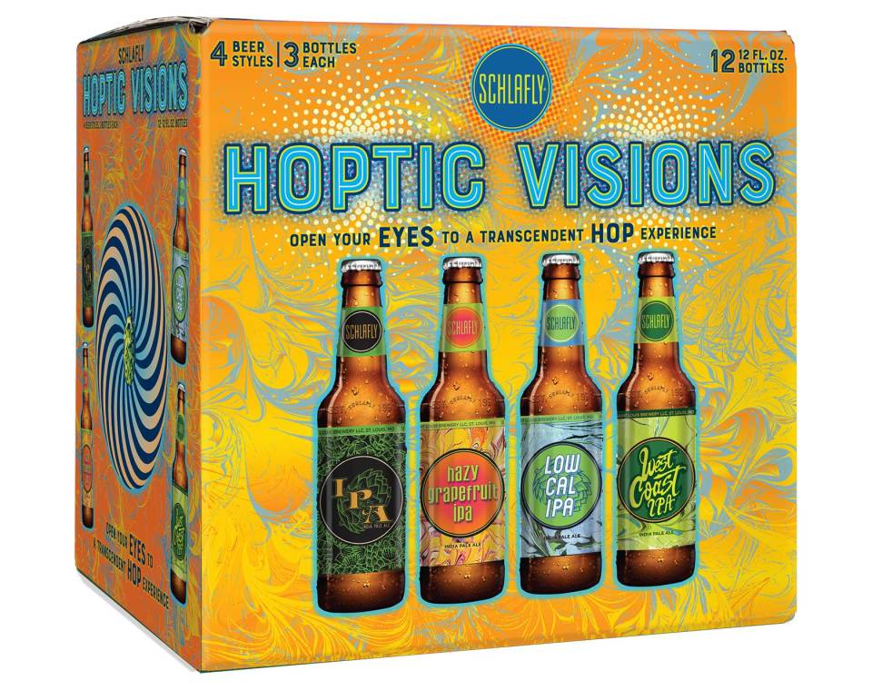 Schlafly Hoptic Visions IPA Pack