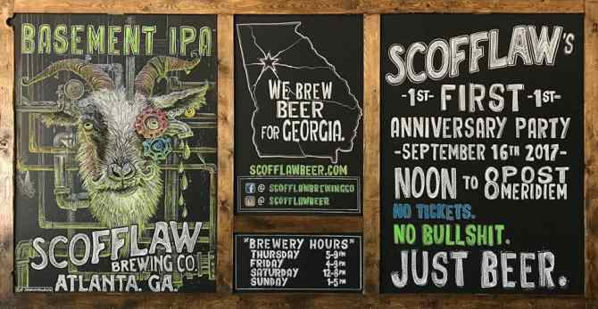 Scofflaw One Year Party