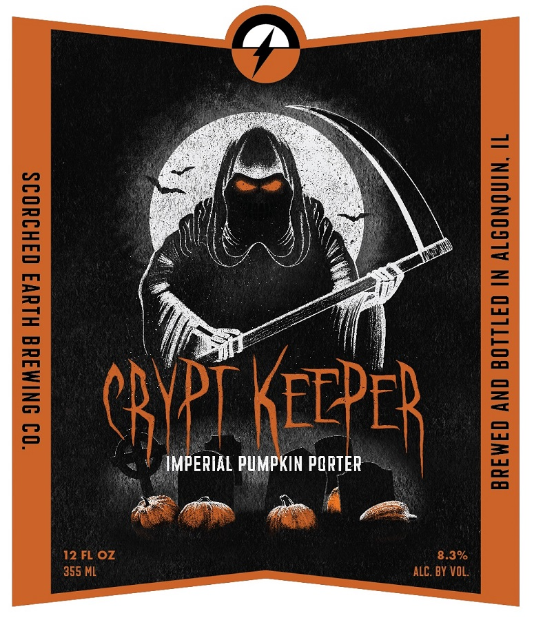 Scorched Earth Crypt Keeper Imperial Pumpkin Porter
