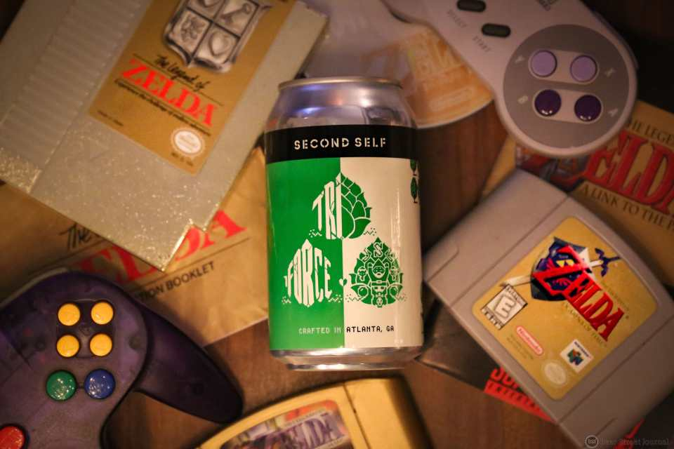 Second Self Triforce IPA can
