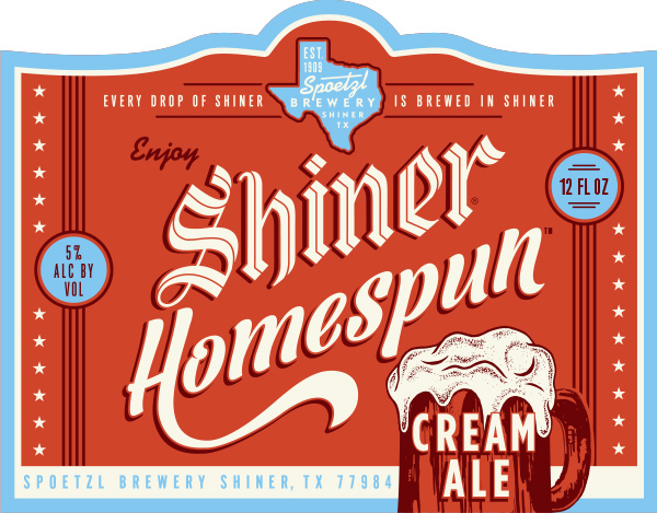 Shiner Homespun Cream Ale