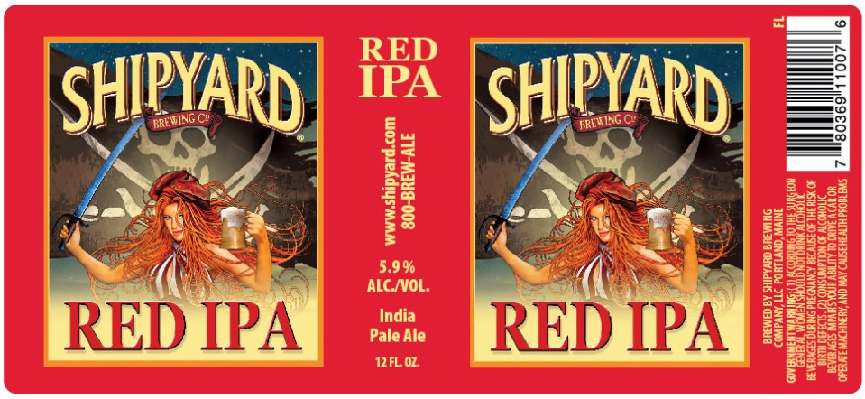 Shipyard Red IPA