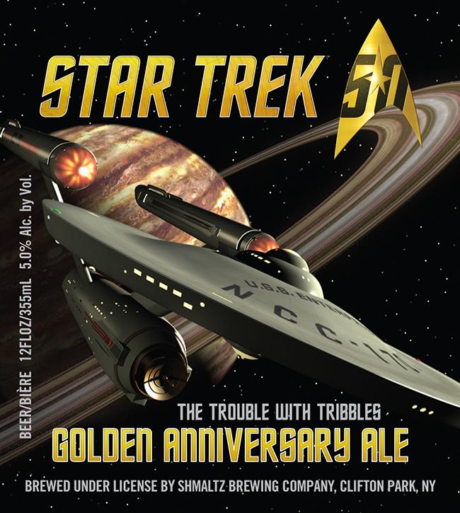 Shmaltz Star Trek Golden Anniversary Ale