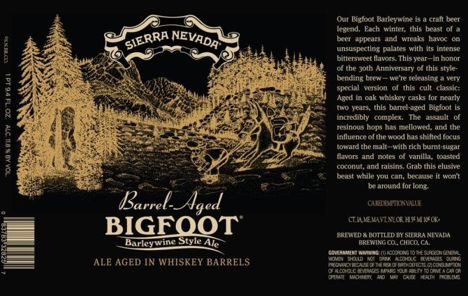 Sierra Nevada Barrel Aged Bigfoot