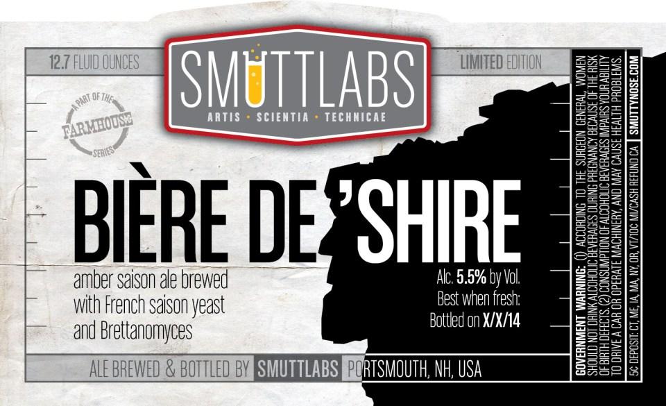 Smuttynose Smuttlabs Biere De Shire