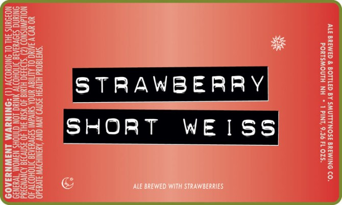 Smuttynose Strawberry Short Weiss