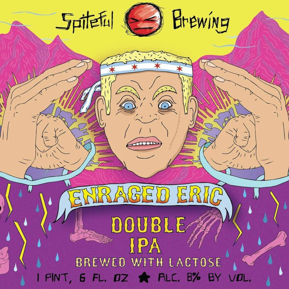 Spiteful Brewing Enraged Eric Double IPA