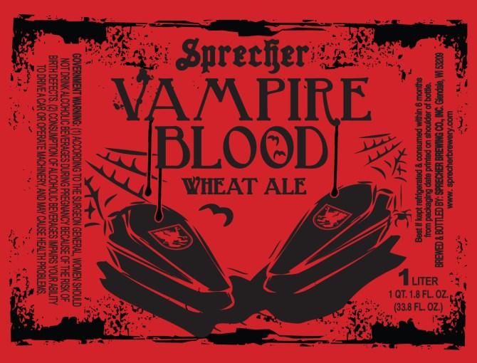 Sprecher Vampire Blood Wheat Ale