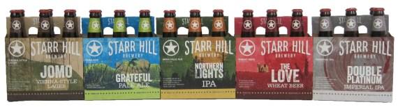 Starr Hill 2015 6 Packs
