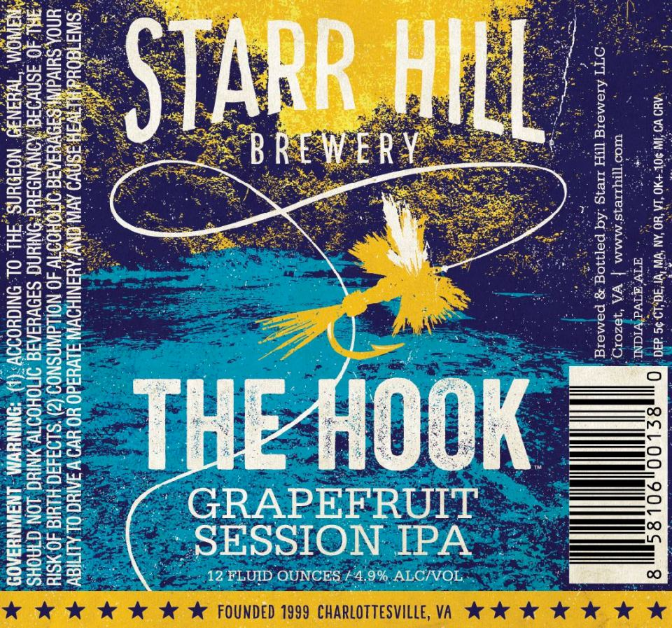 Starr Hill The Hook Grapefruit Session IPA