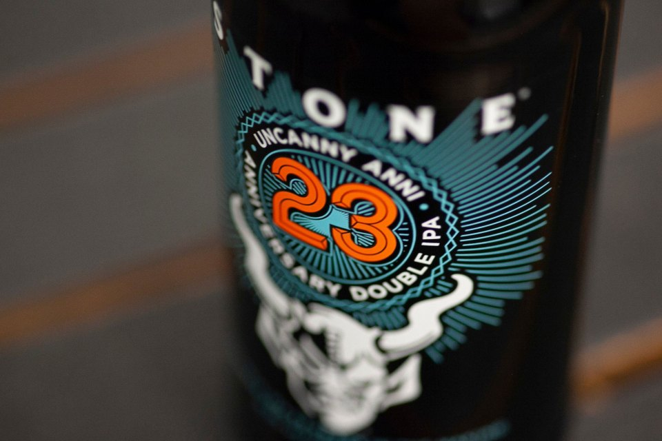 Stone 23rd Uncanny Anni Double IPA