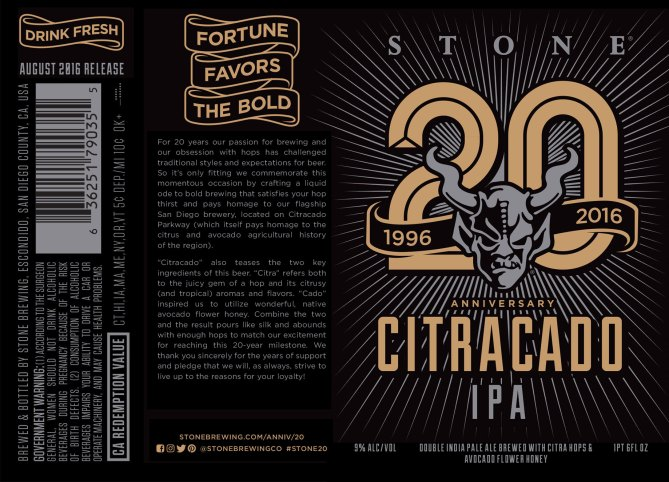 Stone Citracado IPA