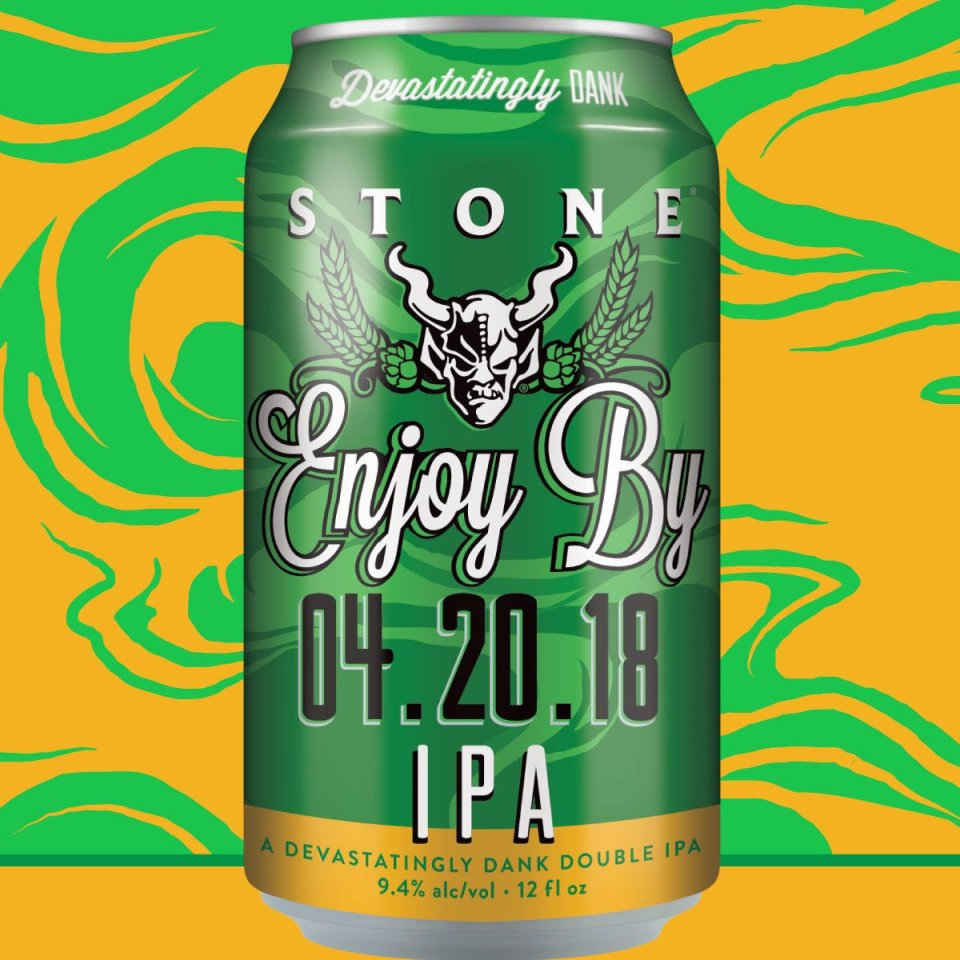 Stone Enjoy By 4.20.18