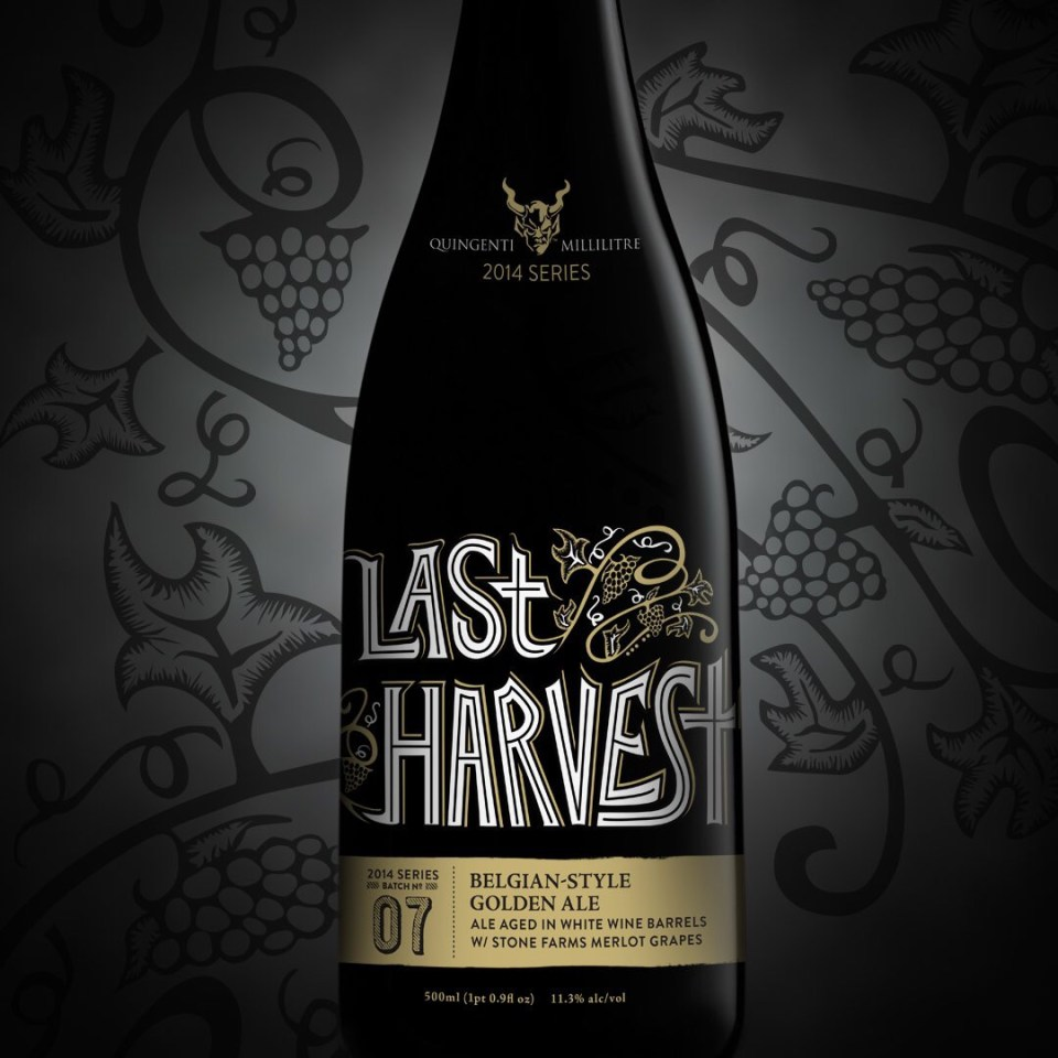 Stone Brewing Last Harvest
