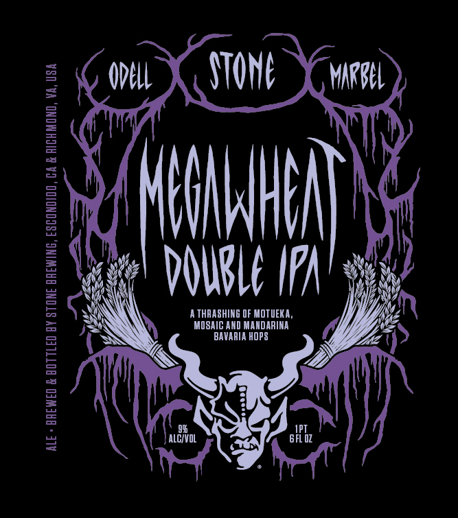 Stone Megawheat Double IPA