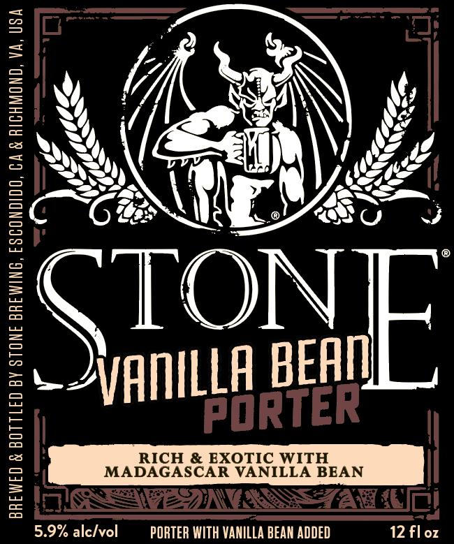 Stone Vanilla Bean Stout