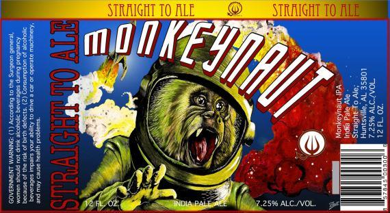 Straight To Ale Monkeynaut