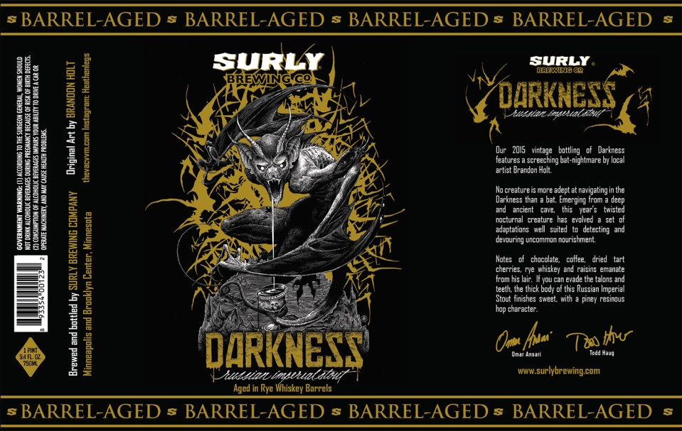 Surly Barrel-Aged Darkness