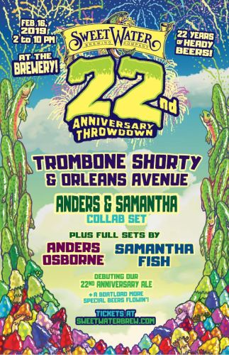 SweetWater 22nd Anniversary Party