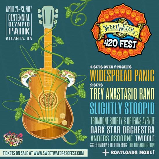 SweetWater 420 Fest Widespread Panic