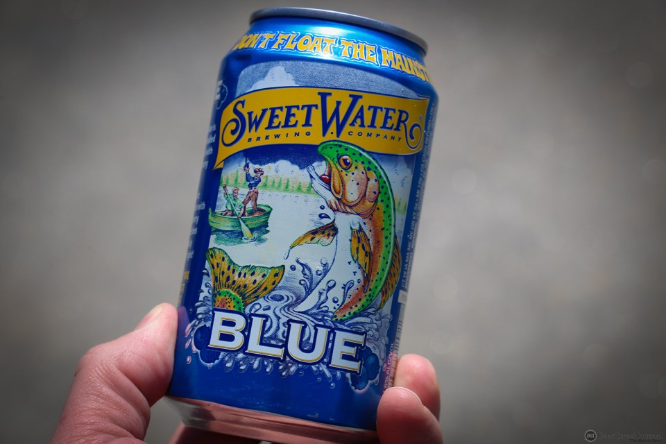 SweetWater Blue Can