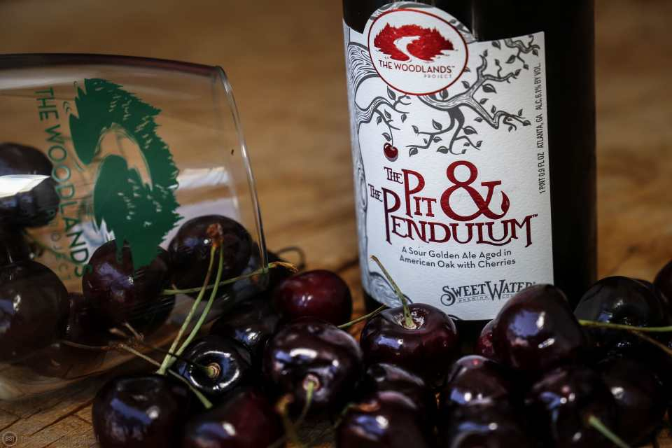 SweetWater Cherry Pit & The Pendulum bottle