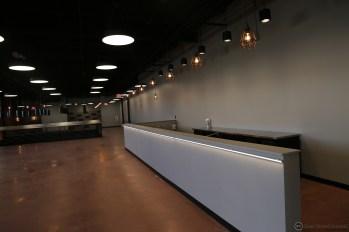 Future taproom bar.