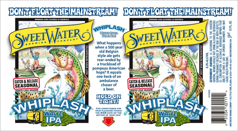 SweetWater Whiplash Cans