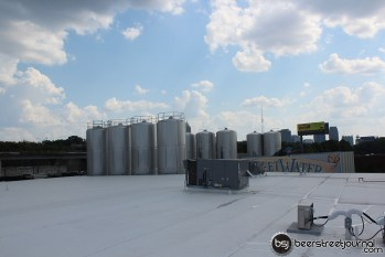 1000 Barrel Fermenters Poke Through the Roof