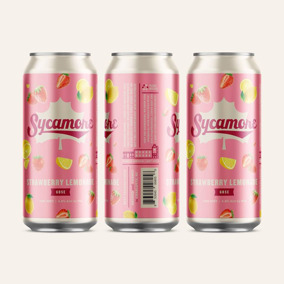 Sycamore Strawberry Lemonade Gose