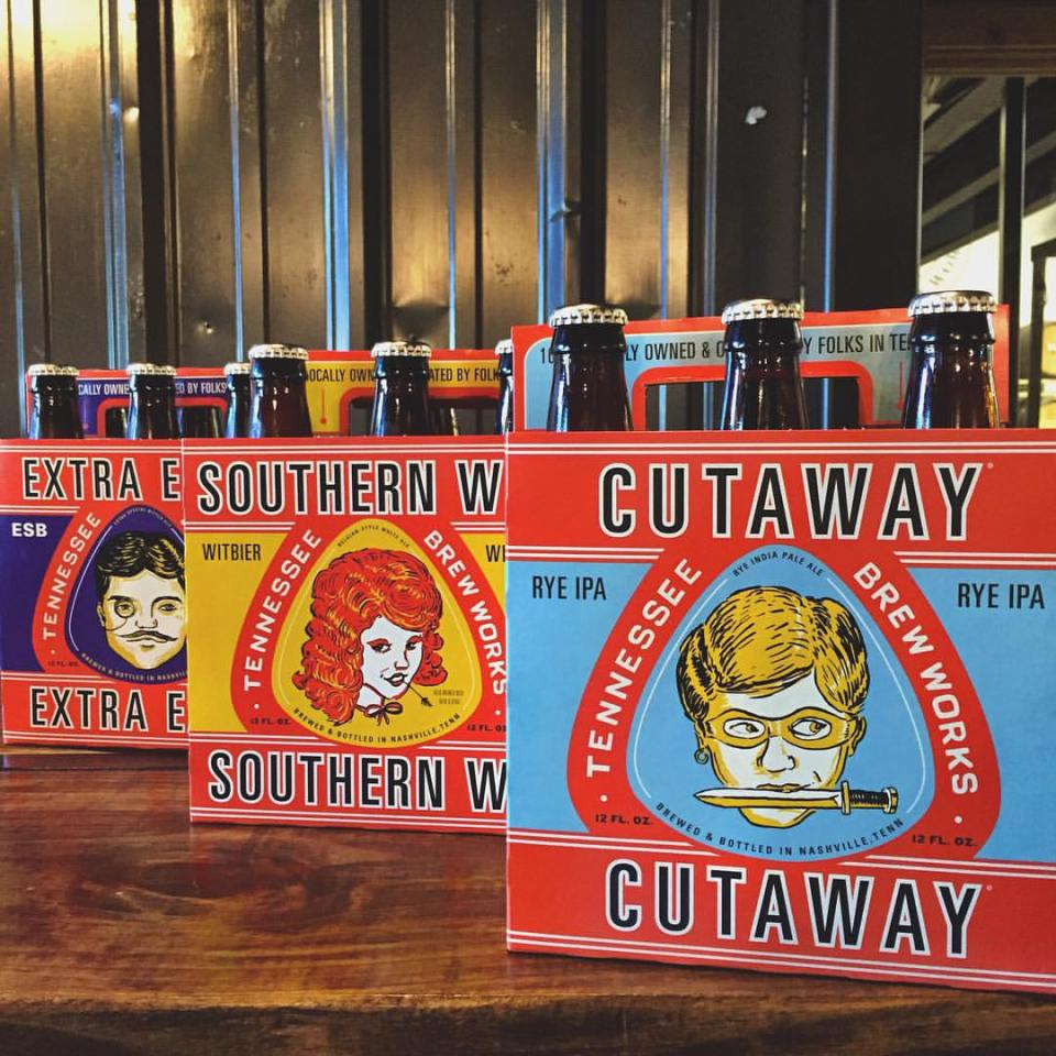 Tennesee Brew Works Bottles