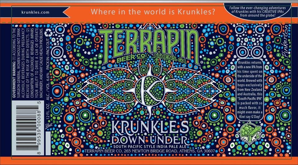 Terrapin Krunkles Down Under