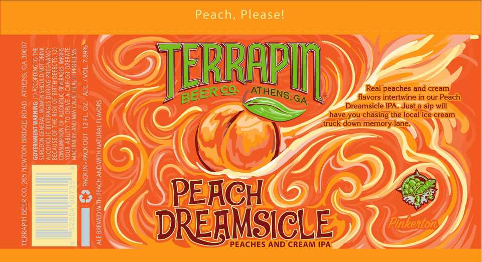 Terrapin Peach Dreamsicle
