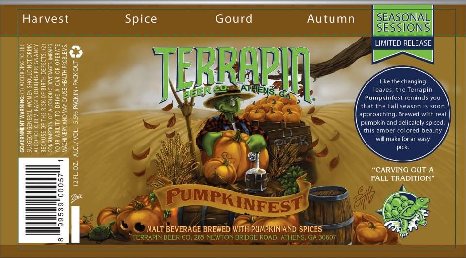 Terrapin Pumpkinfest Cans