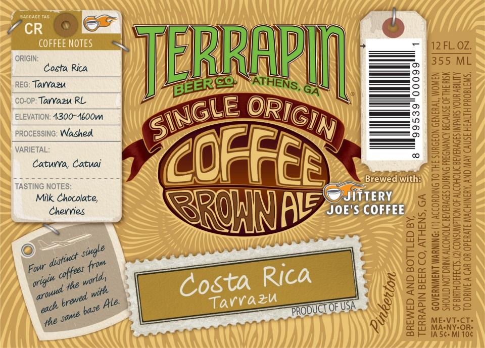 Terrapin Single Origin Coffee Brown Costa Rica
