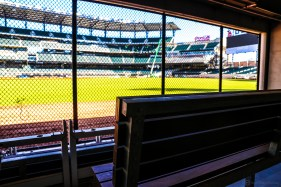 """Under the Chop"" a 100+ private event bar on field level."