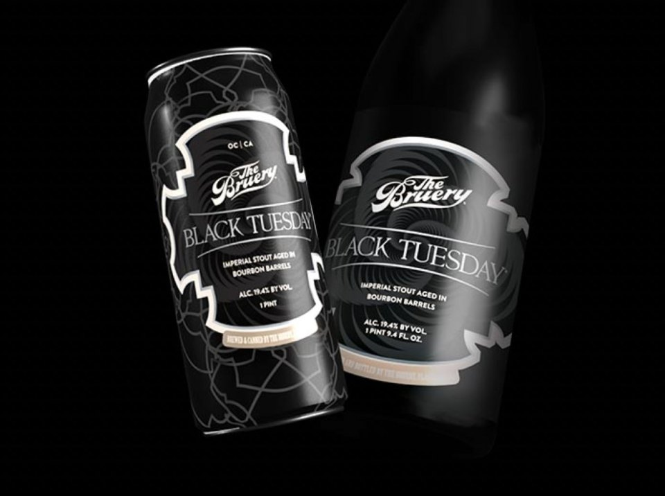 The Bruery Black Tuesday Cans