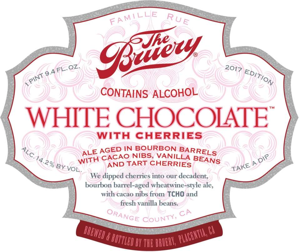 The Bruery White Chocolate with Cherries