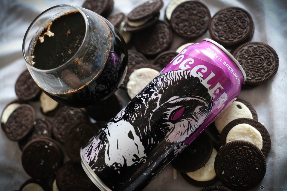 The Veil Brewing Hornswoggler Oreos