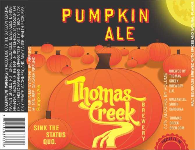 Thomas Creek Pumpkin Ale