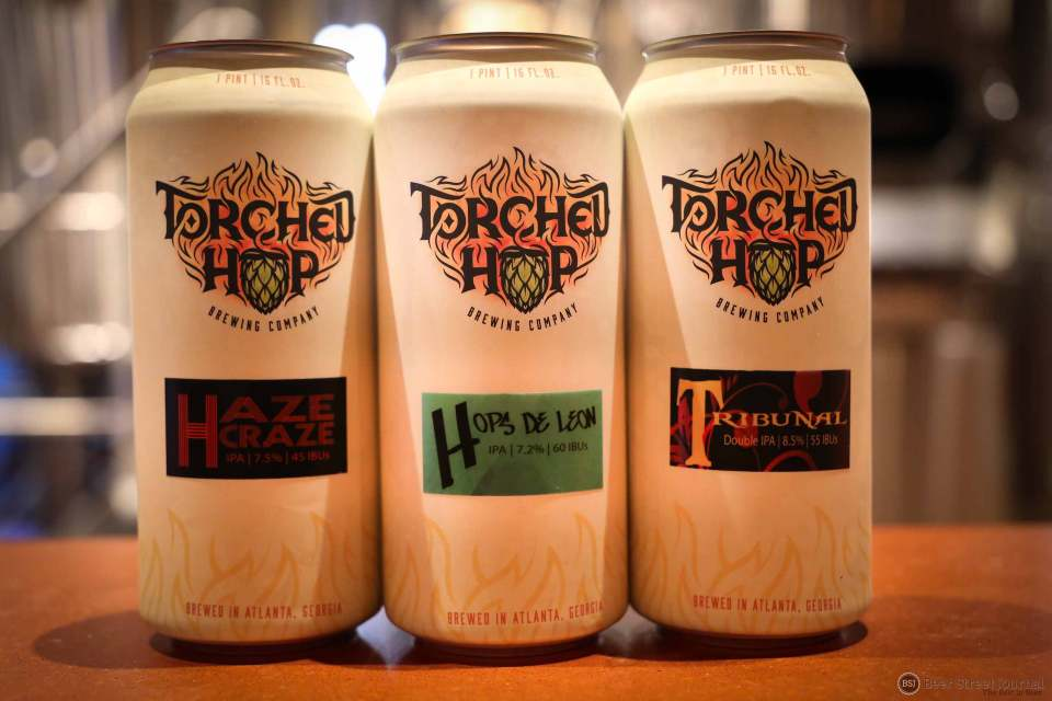 Torched Hop Brewing Cans