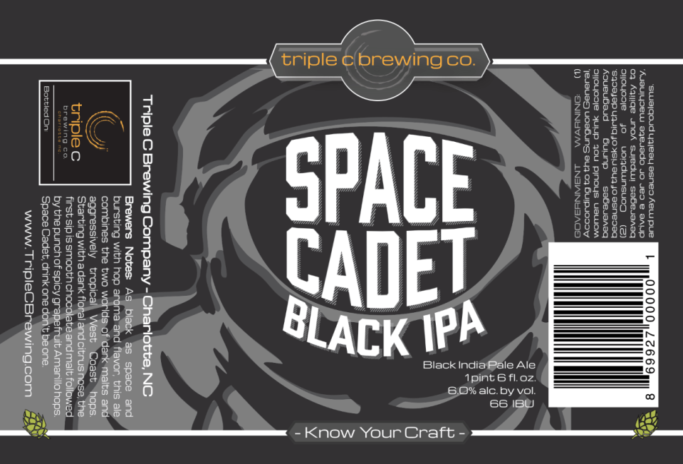 Triple C Space Cadet Black IPA