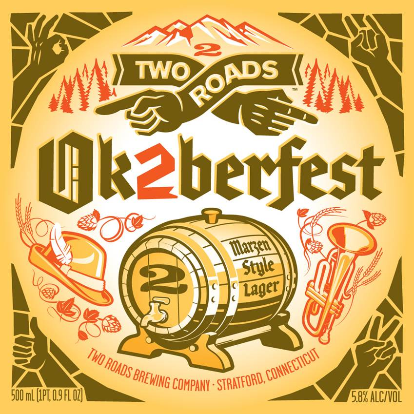 Two Roads Brewing Ok2berfest